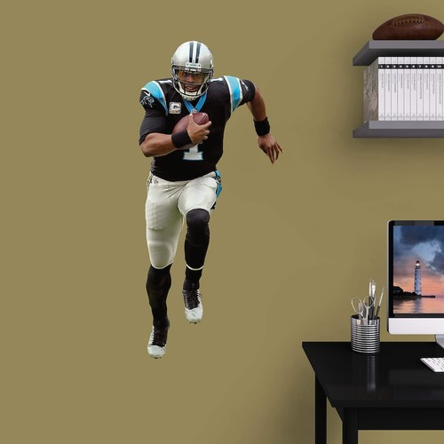 Carolina Panthers Cam Newton Wall Decal by Fathead
