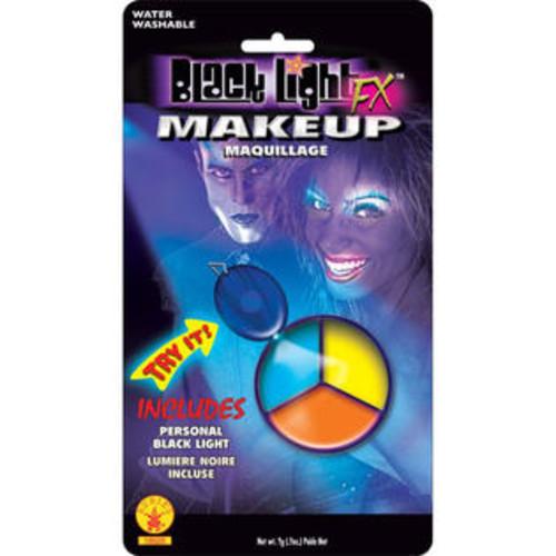 Morris Costumes Blacklite Makeup Tri Color Pod