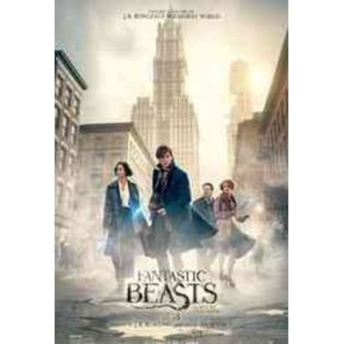 Warner Brothers Fantastic Beasts And Where To Find Them DVD Blu-ray Combo w Digital Copy