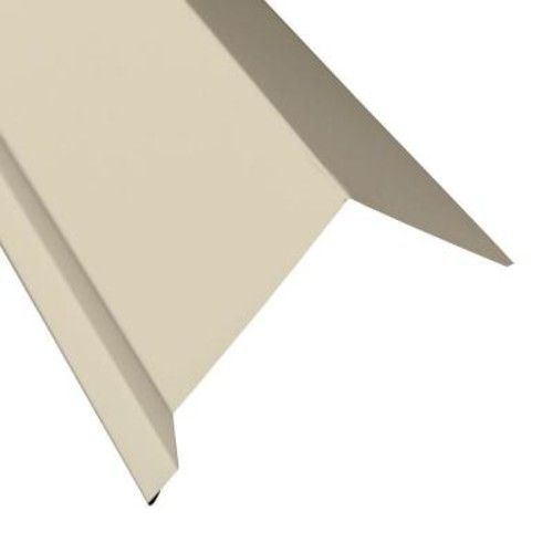 Metal Sales Eave Molding in White