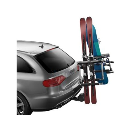 Thule 9033 Tram Ski Carrier Transforms your bike carrier into a ski and board carrier