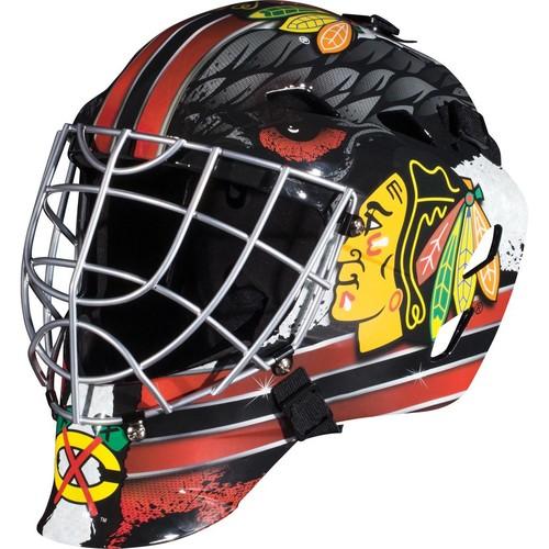 Franklin Sports GFM 1500 NHL Chicago Blackhawks Goalie Face Mask