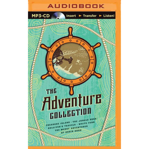 Adventure Collection, The: Treasure Island, The Jungle Book, Gulliver's Travels, White Fang, The Merry Adventures of Robin Hood