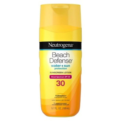 Neutrogena Beach Defense Sunscreen Lotion SPF 30, 6.7 OZ