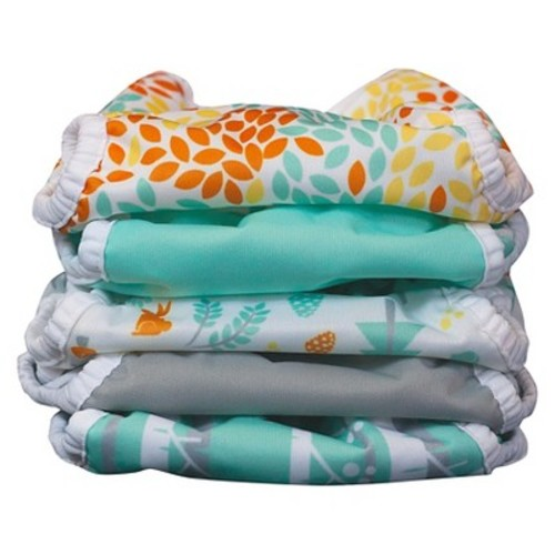 Thirsties Duo Wrap Woodland Cloth Diaper Cover Collection, Size One (Select Style)