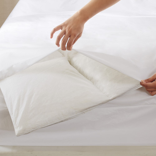 Bed Guardian by Sleep Philosophy 3M Scotchgard Stain Resistant and Waterproof Comforter Protector