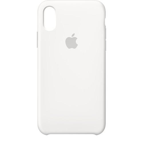 Apple - iPhone X Silicone Case - White