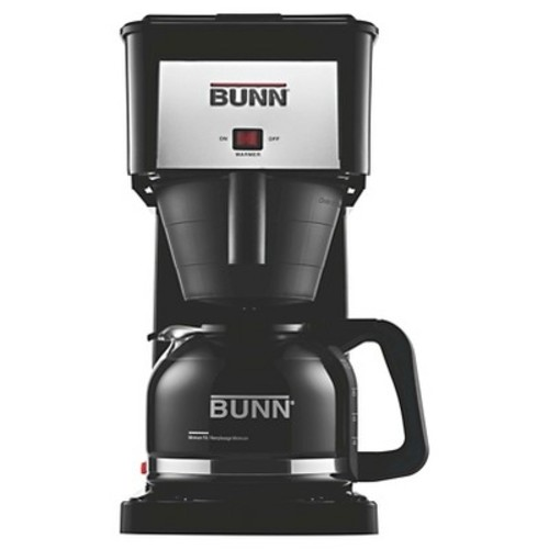 BUNN GRB-D Velocity Brew 10-Cup Coffee Brewer, Black, High Altitude