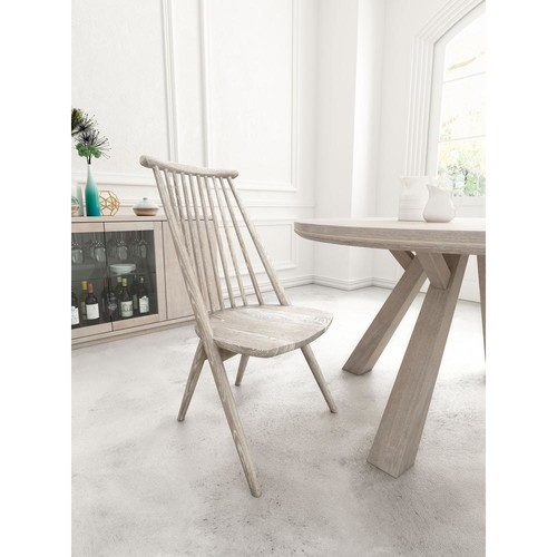 ZUO Bellevue Sun Drenched Acacia Dining Chair (Set of 2)