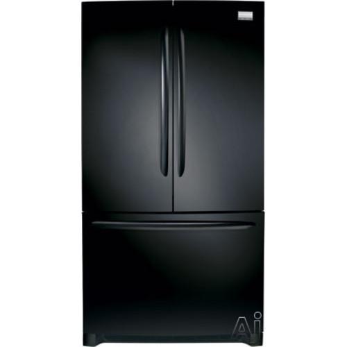 Frigidaire Gallery Series 27.8 Cu. Ft. French Door Free-Standing Refrigerator/Freezer Color: Ebony Black
