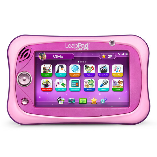 LeapFrog LeapPad Ultimate Learning Tablet - Pink
