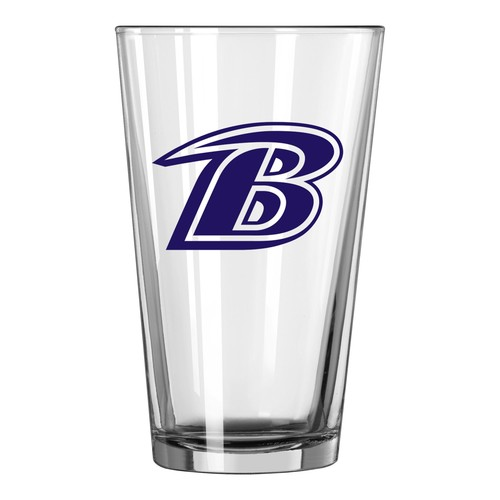 NFL Game Day Pint Glass - Baltimore Ravens