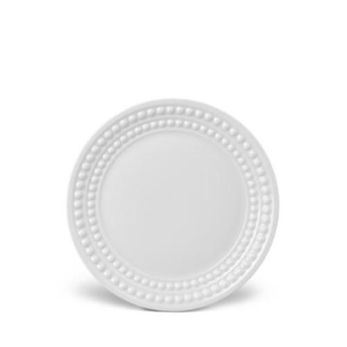 Perle White Bread & Butter Plate