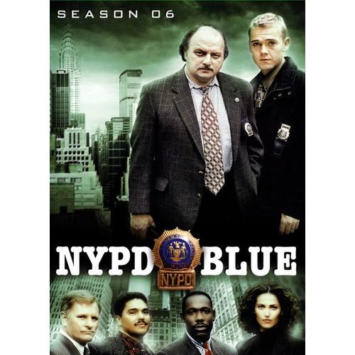 NYPD Blue: Season 06 [6 Discs] [DVD]