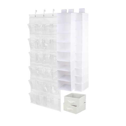 Honey-Can-Do 4-piece Room Organization Set