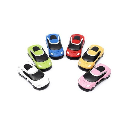 Mini Car Style USB Digital MP3 Music Player Support Micro SD TF With USB Date Cable