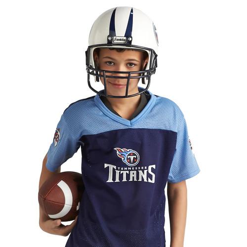 Franklin Tennessee Titans Youth NFL Team Helmet and Uniform Set Medium