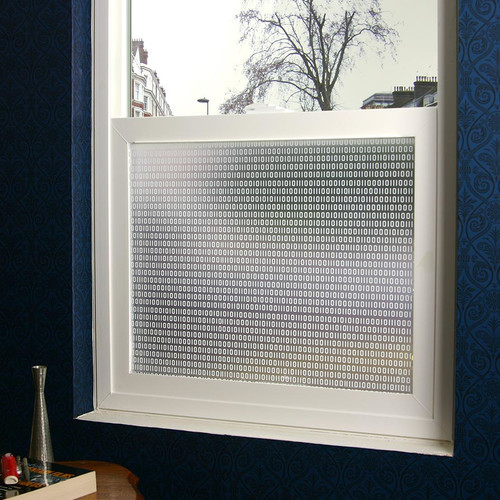 Bits and Bytes Privacy Window Film