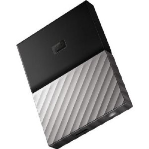 WD My Passport Ultra Portable Drive - 3TB HDD, 1x USB 3.0, 256-Bit AES Encryption, 5Gb/s, USB Bus, Formatted for Win 10, Win 8.1 or Win 7 OS, Black - WDBFKT0030BGY-WESN