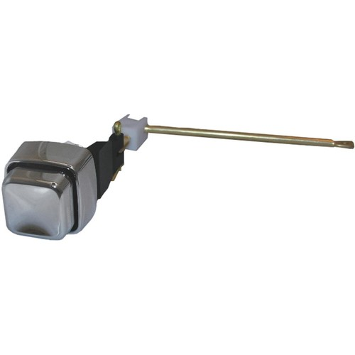 LASCO 04-1757 Toilet Flush Lever with Chrome Plated Button, Side Mount