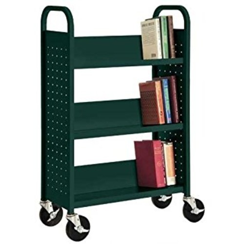 Sandusky Lee SL327-08 Single Sided Sloped Shelf Welded Bookcase, 14