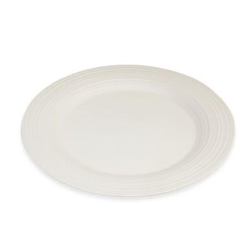 Mikasa Swirl Chop Plate in White