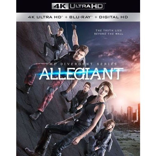The Divergent Series: Allegiant Blu-Ray Combo Pack (Blu-Ray/DVD/Digital HD)