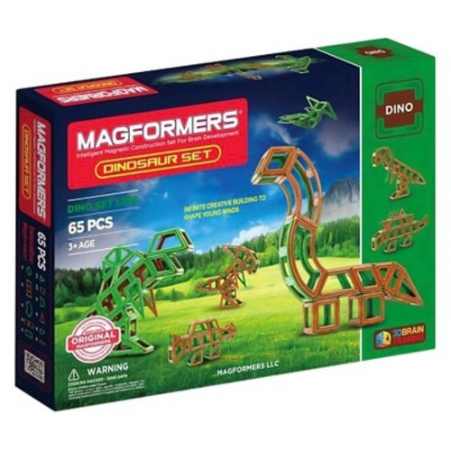 Magformers Dinosaur 65 PC Set
