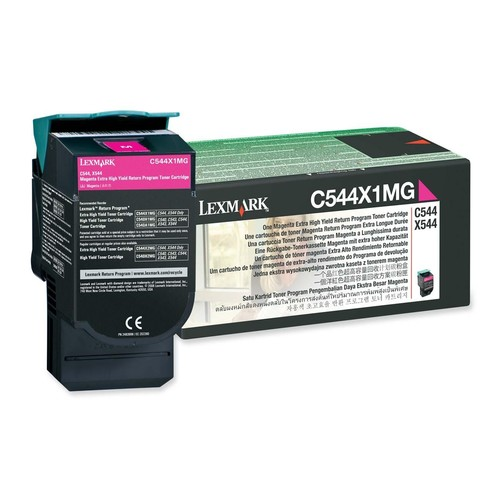 Lexmark - Toner Cartridge - Magenta - Magenta