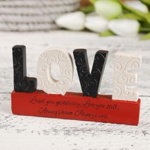 Blossom Bucket Love on Loved Base Letter Blocks