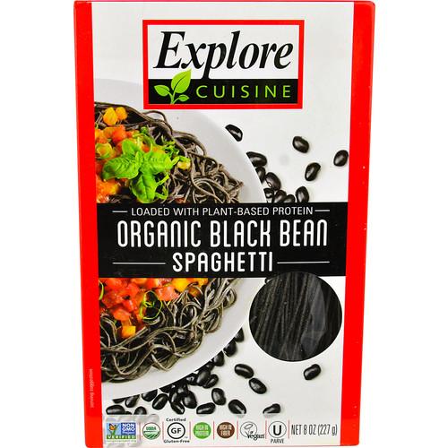 Explore Cuisine Organic Black Bean Spaghetti -- 8 oz