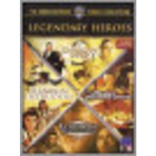 Legendary Heroes [4 Discs] [DVD]