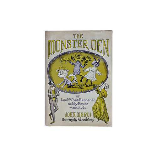 Christopher de Lotbinire's Rare Books The Monster Den, Illus. Edward Gorey