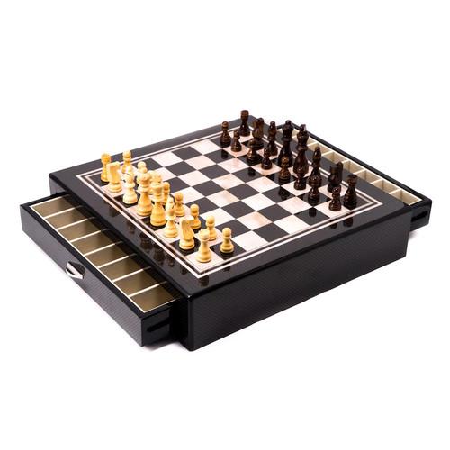 Bey-Berk Wood Chess Set