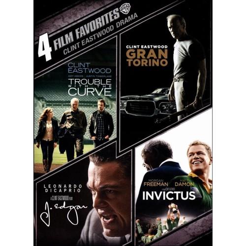 Clint Eastwood Drama: 4 Film Favorites [4 Discs] [DVD]
