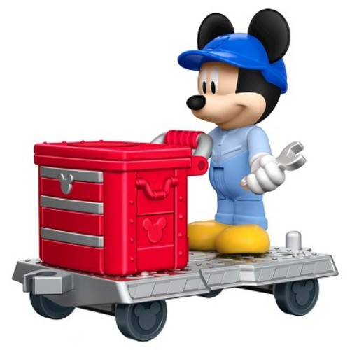 Fisher-Price Disney Mickey and the Roadster Racers Engineer Mickey Figure