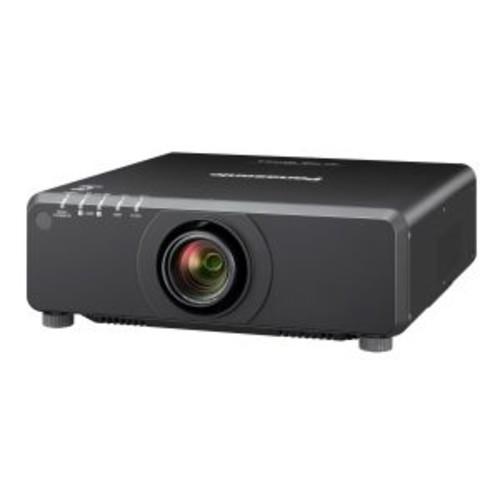 Panasonic PT DW750BU - DLP projector - 7000 lumens - WXGA (1280 x 800) - 16:10 - HD 720p - zoom lens - LAN (PT-DW750BU)