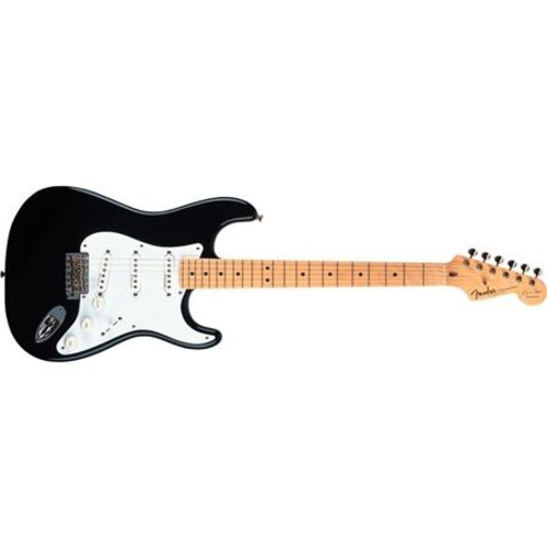 Fender Eric Clapton Stratocaster Electric Guitar, Maple Fingerboard, Black 0117602806