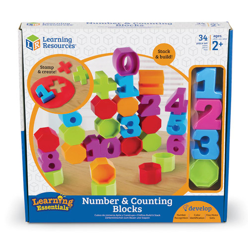 Learning Resources Numbers & Counting Blocks
