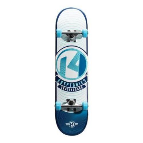 Kryptonics 31 in. Blue Rays POP Complete Skateboard