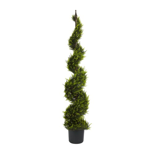 5' Cypress Spiral Tree by Nearly Natural