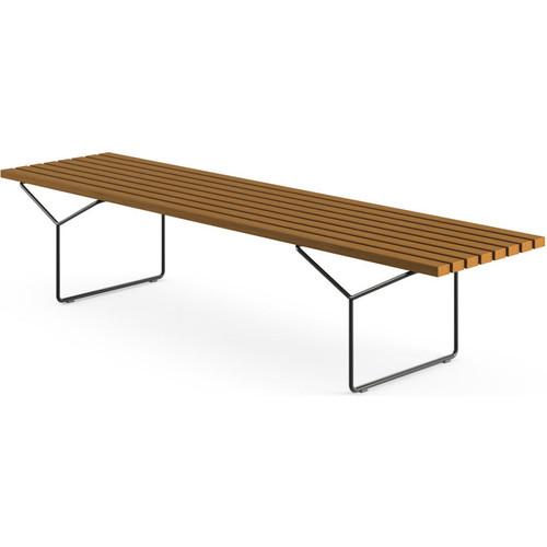 Bertoia Outdoor Bench [Frame Finish : BLK - Black]