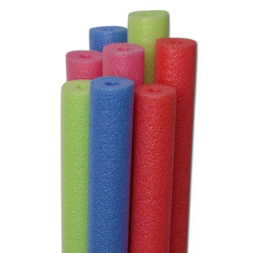 Gladon Water Log 2.6 in. x 58 in. Noodle Pool Toy Variety Pack - Case of 20