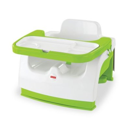 Fisher-Price Grow-with-Me Portable Booster in Green
