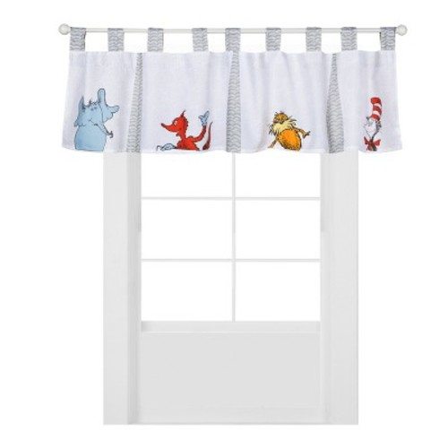 Dr. Seuss Friends by Trend Lab Window Valance