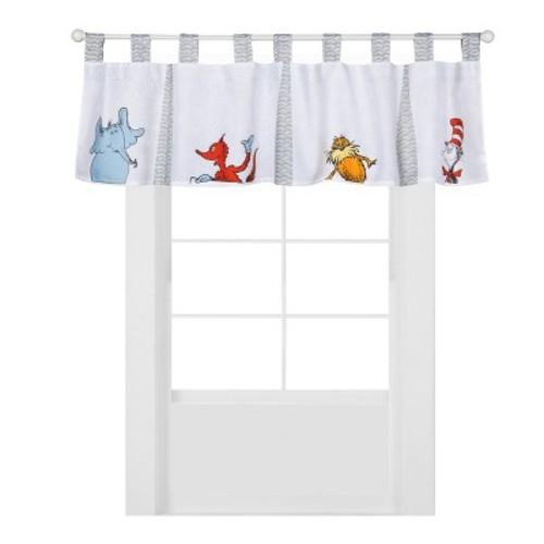 Dr. Seuss Friends by Trend Lab Window Valance
