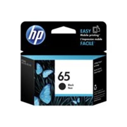HP Inc. 65 - Black - original - ink cartridge - for AMP 100; Deskjet 26XX, 37XX; Envy 50XX (N9K02AN)