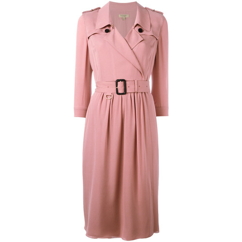 BURBERRY Belted Wrap Dress