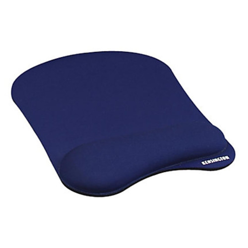 Kensington Mouse Pad/Wrist Pillow, Blue
