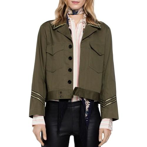ZADIG & VOLTAIRE Kalen Military-Style Jacket